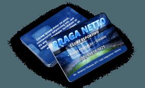 Cartão de Visita PVC Plástico